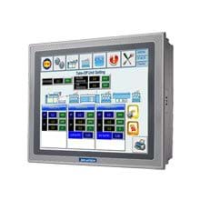 "RISC processor-based Operator Panels are a real-time operating system and built-in Microsoft® WinCE 6.0 OS platform which bundles WebOP Designer, becoming a control HMI for flexible system integration.  WebOP Designer 2.0 is a software development tool which involves the use of PLCs and helps create application solutions for labor-saving, improves efficiency of manufacturing and easy control.  Operator Panel fronts come IP66 certified with display sizes from 3.5"" to 15"" and support the use of different motion/thermal controllers, inverters and sensors."