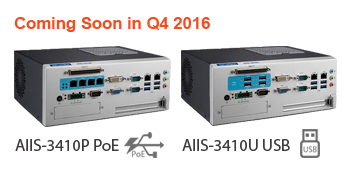 Advantech AIIS-3410P and AIIS-3410U