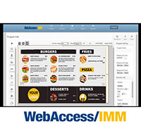 WebAccess/ IMM for signage is a smart and sophisticated software designed for content creation and remote dispatch. Customers can remotely manage multiple signage devices through a single console.