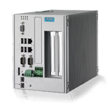 The UNO series are fanless embedded automation PCs with both DIN-rail and wall mount options. They feature Low Power ATOM processors, dual LANs, RS-232/422/485 ports, and expansion capability for PC/104 or Mini-PCIe. They are suitable for gateway or data server applications and cover the requirements of a wide range of applications.