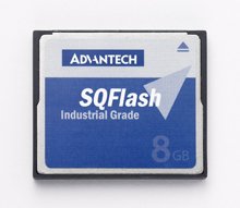 "Advantech SQFlash provides smart and quality flash memory solutions ranging from CF, DOM, CFast, mSATA, Half-slim, 2.5"" SSD and Enterprise Class SSD. With industrial reliability, excellent compatibility, high performace and complete security, Advantech SQFlash provides perfect storage solutions for your embedded applications."