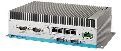 The UNO series are fanless embedded automation PCs with both DIN-rail and wall mount options. They feature Intel Celeron M processors, dual LANs, RS-232/422/485 ports, and expansion capability for PC/104 or Mini-PCIe. They are suitable for gateway or data server applications and cover the requirements of a wide range of applications.