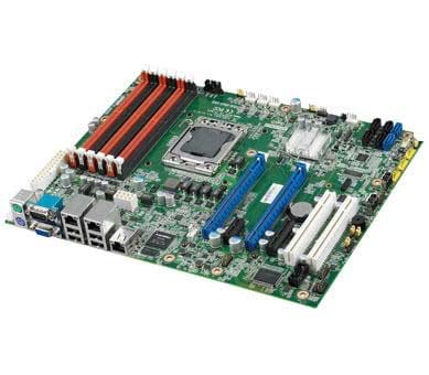 Serverboard performance including dual Intel Xeon E3 / E5 series, Gen 3 PCI Express and SAS storage with RAID 10 support in industrial long-life designs.