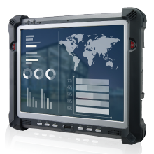Industrial Portable Computer product lines include industrial PDAs and tablet PCs. These rugged devices resists shock and vibration to safeguard data while on the move.