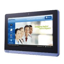 Advantech's POC series provides the ideal image terminal for versatile medical applications. They come with sealed IO ports and IPX1 compliant chassis.