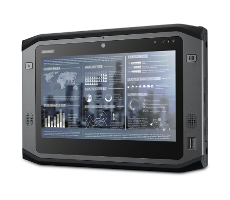 "10.1"" Rugged Tablet PC with Intel Core i7  Multi-touch, Sunlight Readable LCD, Windows 8E"