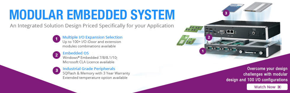 Fully Modular System Fullfills Your Embedded Solutions