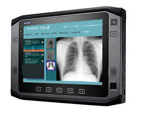 "10.1"" windows RUGGED TABLET for ems"